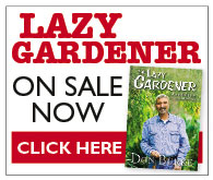 Lazy Gardener on sale now