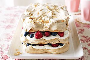 Berry & Almond Meringue