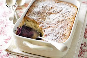 Berry & Lemon Sponge Pudding