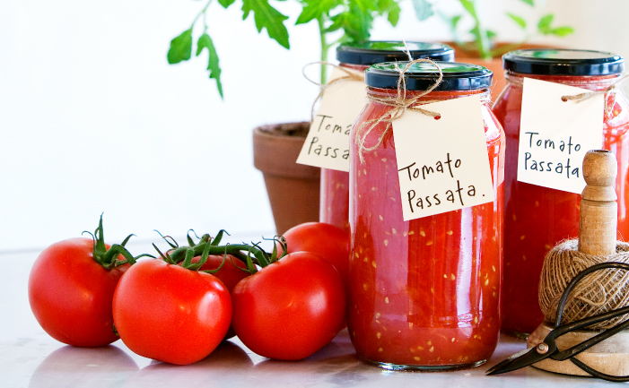Home Grown Tomato Sauce