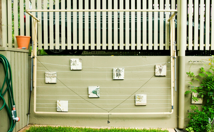 Clotheslines For Small Backyards clothes lines - burke's backyard