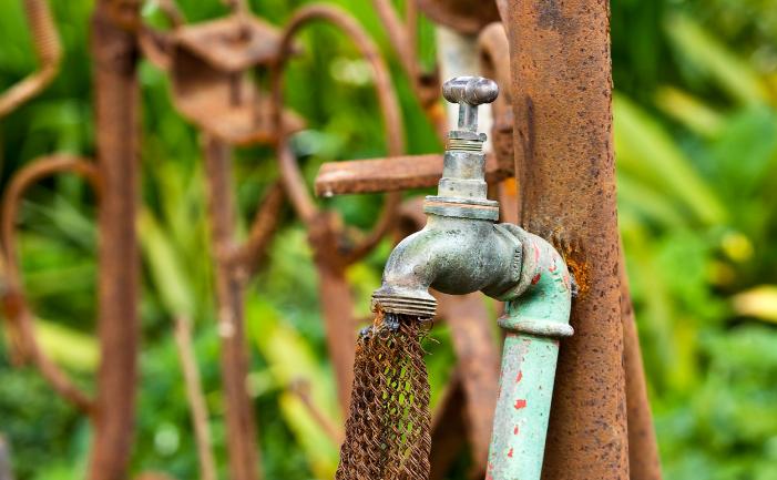 Leaking Taps - Burke\'s Backyard